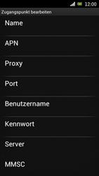 Sony Ericsson Xperia Ray mit OS 4 ICS - Internet - Manuelle Konfiguration - Schritt 11