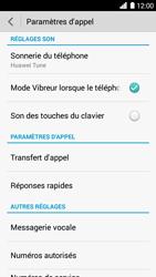 Huawei Ascend G6 - Messagerie vocale - Configuration manuelle - Étape 5