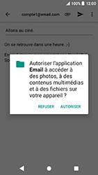 Sony Xperia X Compact - Android Oreo - E-mail - envoyer un e-mail - Étape 10