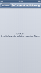 Apple iPhone 5 - Software - Installieren von Software-Updates - Schritt 8