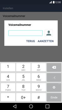 LG G4 - voicemail - handmatig instellen - stap 8