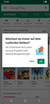 Samsung Galaxy S9 - Android Pie - Apps - Nach App-Updates suchen - Schritt 4