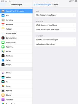Apple iPad Pro 9.7 inch - E-Mail - Konto einrichten - 6 / 30