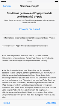 Apple Apple iPhone 6s Plus iOS 10 - Applications - Créer un compte - Étape 10