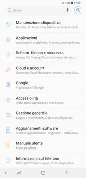 Samsung Galaxy Note 8 - Dispositivo - Ripristino delle impostazioni originali - Fase 5