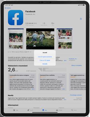 Apple iPad Pro 10.5 (1st gen) - iPadOS 13 - Applicazioni - Configurazione del negozio applicazioni - Fase 8