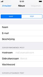 Apple iPhone SE - iOS 12 - E-mail - e-mail instellen: IMAP (aanbevolen) - Stap 11