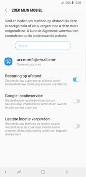 Samsung Galaxy Note9 - Beveiliging en privacy - zoek mijn mobiel activeren - Stap 7