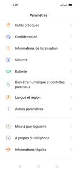 Oppo A53s - Aller plus loin - Mettre à jour le logiciel interne de votre mobile - Étape 5