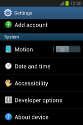 Samsung Galaxy Fame Lite - Software - Installing software updates - Step 5