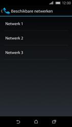 HTC Desire 320 - Netwerk - Handmatig netwerk selecteren - Stap 12