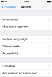 Apple iPhone 4S iOS 7 - Logiciels - Installation de mises à jour - Étape 6