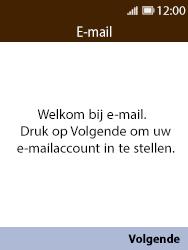 Nokia 8110 - E-mail - handmatig instellen - Stap 4