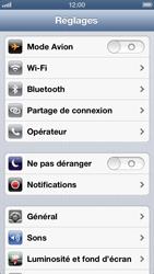 Apple iPhone 5 - Réseau - Changer mode réseau - Étape 3