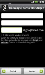 HTC A9191 Desire HD - Apps - Konto anlegen und einrichten - Schritt 7