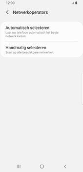 Samsung galaxy-s9-sm-g960f-android-pie - Netwerk selecteren - Handmatig een netwerk selecteren - Stap 8