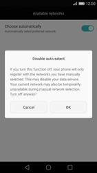 Huawei Ascend P8 - Network - Manual network selection - Step 7