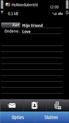 Nokia N8-00 - MMS - afbeeldingen verzenden - Stap 9