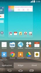 LG G3 - Operazioni iniziali - Installazione di widget e applicazioni nella schermata iniziale - Fase 4