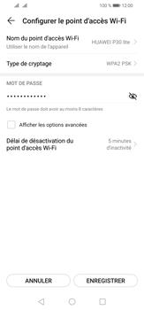 Huawei P30 Lite - WiFi - Comment activer un point d'accès WiFi - Étape 9
