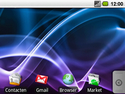 Acer BeTouch E130 - Internet - populaire sites - Stap 1