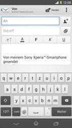 Sony Xperia M2 - E-Mail - E-Mail versenden - 5 / 16
