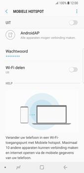 Samsung Galaxy S9 (SM-G960F) - WiFi - Mobiele hotspot instellen - Stap 11