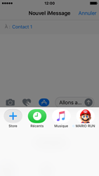 Apple iPhone SE - iOS 10 - iOS features - Envoyer un iMessage - Étape 21
