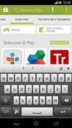 Sony Xperia V - Applicazioni - Installazione delle applicazioni - Fase 12