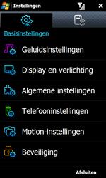 Samsung I8000 Omnia II - Voicemail - handmatig instellen - Stap 4