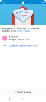 Samsung Galaxy S20 FE - E-mails - Ajouter ou modifier un compte e-mail - Étape 22