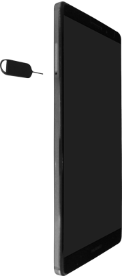 Huawei Mate 9 - SIM-Karte - Einlegen - Schritt 2