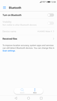 Huawei Mate 9 - Bluetooth - Connecting devices - Step 4