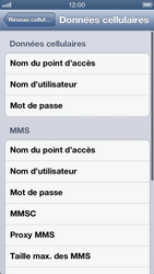Apple iPhone 5 - MMS - Configuration manuelle - Étape 7