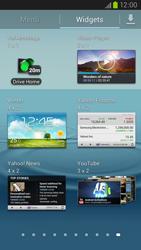 Samsung Galaxy S III LTE - Startanleitung - Installieren von Widgets und Apps auf der Startseite - Schritt 5