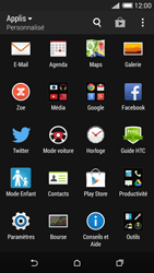 HTC One Mini 2 - Wifi - configuration manuelle - Étape 2