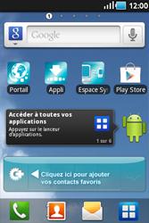 Samsung Galaxy Ace - Contact, Appels, SMS/MMS - Envoyer un SMS - Étape 1