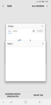Samsung Galaxy Note 8 - Internet und Datenroaming - Verwenden des Internets - Schritt 16