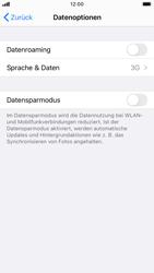 Apple iPhone 8 - iOS 14 - Netzwerk - So aktivieren Sie eine 4G-Verbindung - Schritt 5