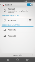 Sony Xperia Z3 - bluetooth - headset, carkit verbinding - stap 8