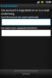 Sony ST27i Xperia Go - E-mail - handmatig instellen - Stap 14