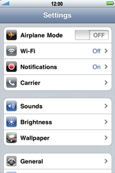 Apple iPhone 3G S - Bluetooth - Pair with another device - Step 3