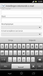 Sony C5503 Xperia ZR - e-mail - handmatig instellen - stap 10