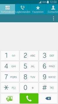 Samsung N910F Galaxy Note 4 - Voicemail - Handmatig instellen - Stap 4