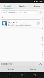 Sony Xpéria Z - E-mails - Envoyer un e-mail - Étape 7