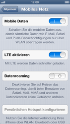 Apple iPhone 5 - Ausland - Im Ausland surfen – Datenroaming - 7 / 9