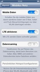 Apple iPhone 5 - Ausland - Im Ausland surfen – Datenroaming - Schritt 7