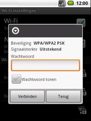 LG P350 Optimus Me - wifi - handmatig instellen - stap 8