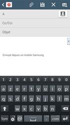 Samsung Galaxy Grand 2 4G - E-mails - Envoyer un e-mail - Étape 5
