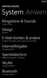 Nokia Lumia 925 - E-Mail - Manuelle Konfiguration - Schritt 4